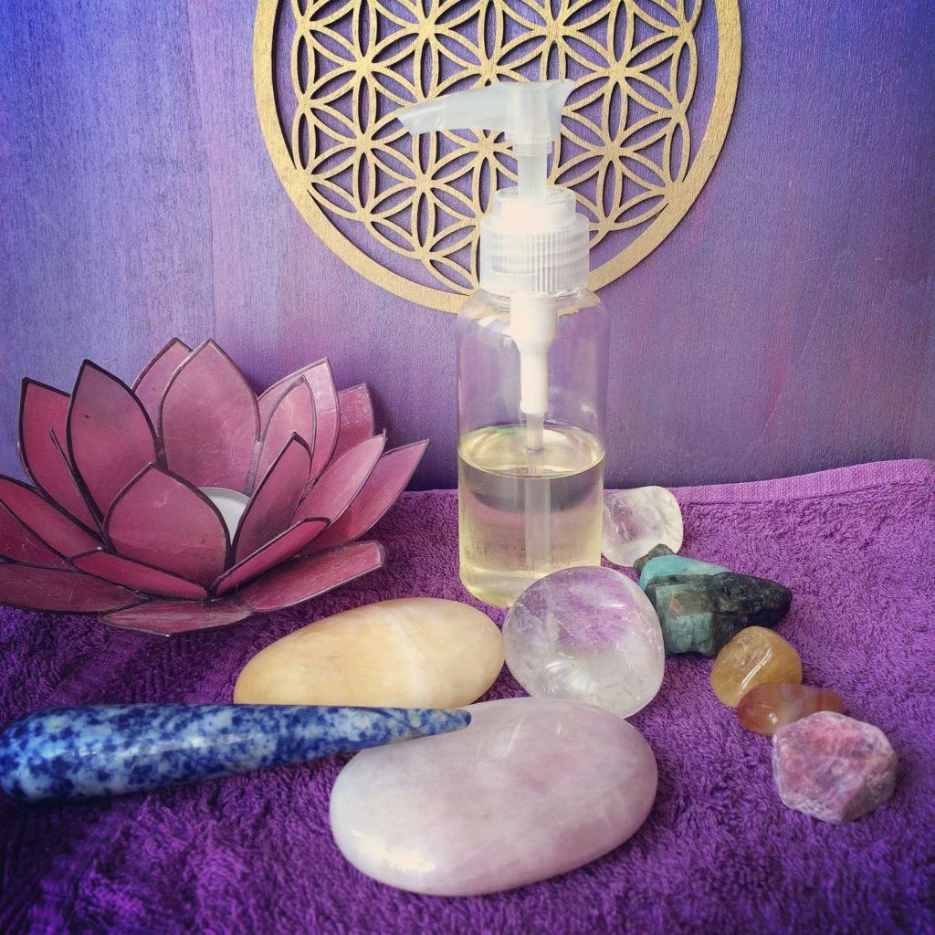 massage aux pierres semi precieuses